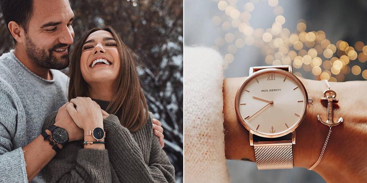 德國品牌 Paul Hewitt 船錨編織手環 玫瑰金手錶 不鏽鋼手環 官方經銷商